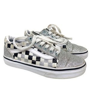 Vans Old School Checkered Board & Glitter Sneakers